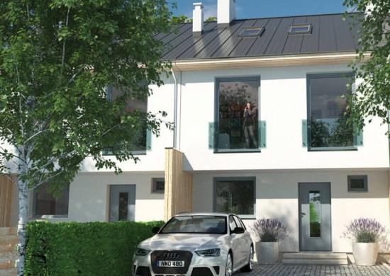 Reda ul Okrężna 3 domy jednorodzinne w zabudowie szeregowej Reda